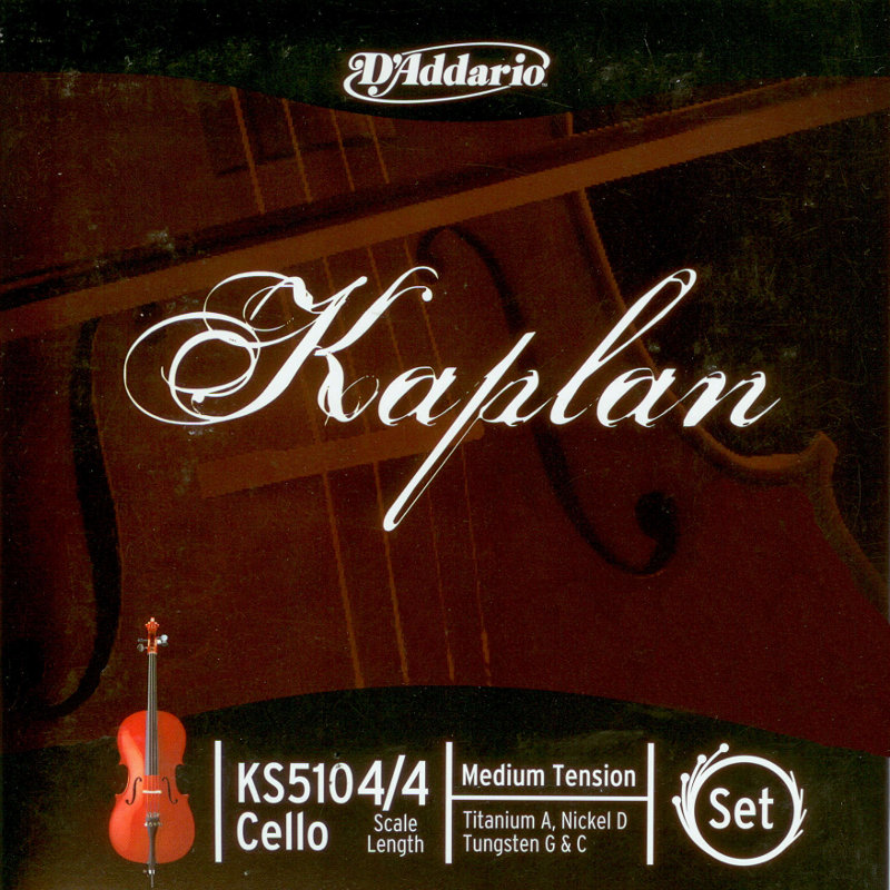 Kaplan Cello Strings (D'Addario)